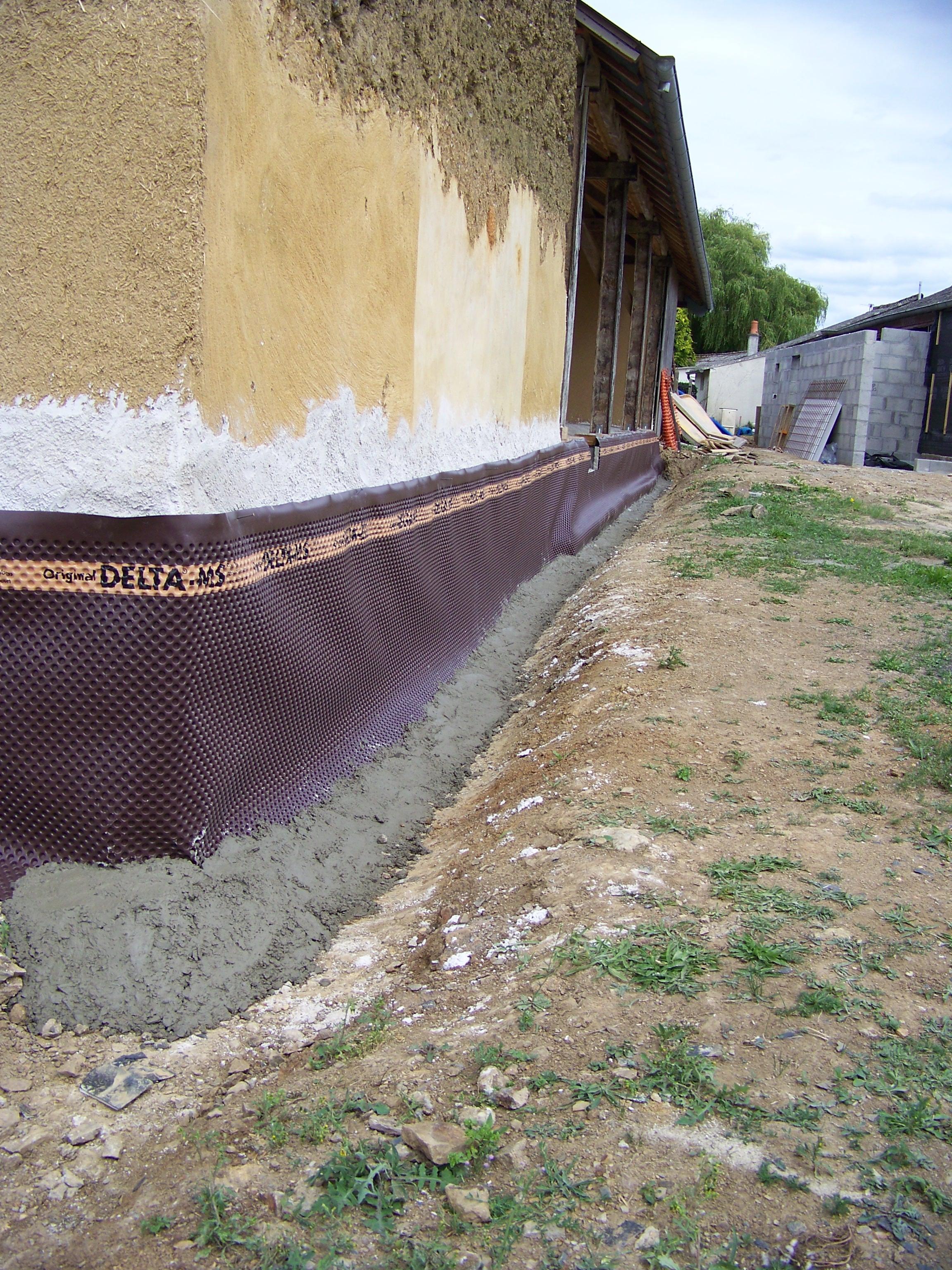 Refaire Fondation Maison Ancienne les drains | tiez breiz
