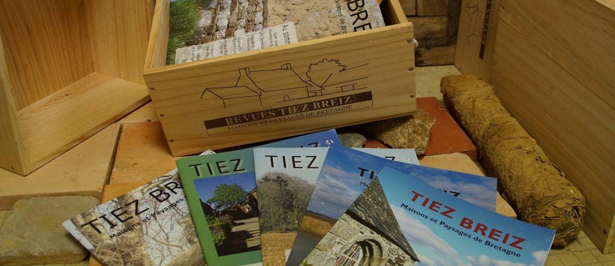 Revues Tiez Breiz, restaurer sa maison, bâti ancien, architecture vernaculaire, environnement, paysages