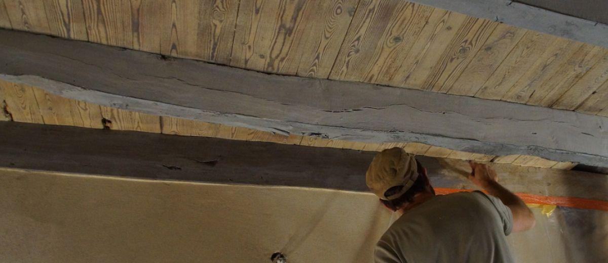 stage, peinture naturelle, Tiez Breiz, restaurer sa maison, matériaux sains