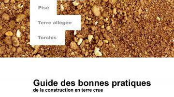 guides bonnes pratiques, terre crue, patrimoine terre,
