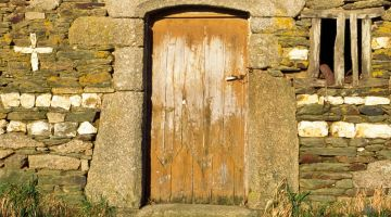 quartz, moëllons, patrimoine Bretagne, bâti ancien, restaurer sa maison