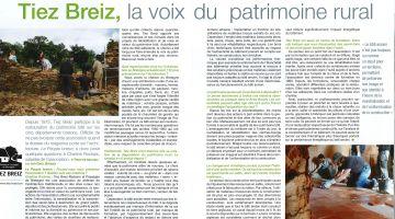 le peuple breton, restauration du patrimoine rural