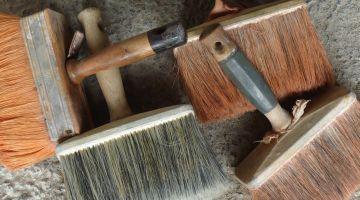 peintures naturelles, stage, restauration maison ancienne, patrimoine, peinture à l'huile de lin, peinture à la colle de farine, Bretagne